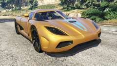 Koenigsegg Agera v0.8 [Early Beta] for GTA 5