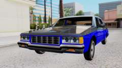 Chevrolet Caprice 1980 SA Style Civil for GTA San Andreas