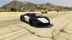 Lamborghini Police Zentorno LSPD v3.0 for GTA 5