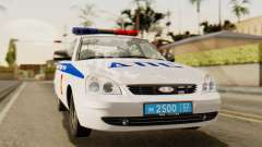 Lada 2170 Priora traffic police of the Nizhniy N