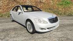 Mercedes-Benz S500 W221 v0.3 [Alpha] for GTA 5