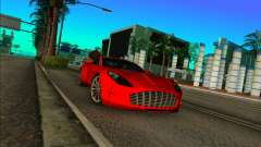 Aston Martin One-77 for GTA Vice City