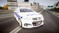 Holden VF Commodore SS NSW Police [ELS] for GTA 4
