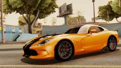 Dodge Viper SRT GTS 2013 IVF (HQ PJ) No Dirt for GTA San Andreas
