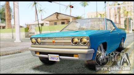 GTA 5 Cheval Picador IVF for GTA San Andreas