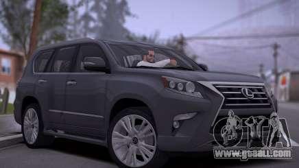 Lexus GX460 2014 for GTA San Andreas