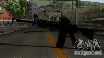 AR-15 Elcan for GTA San Andreas