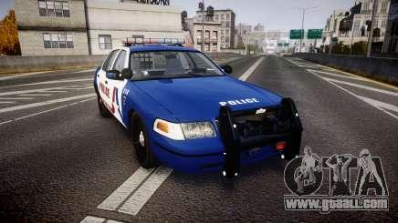 Ford Crown Victoria Alderney Police [ELS] for GTA 4