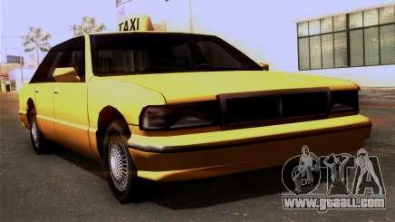 Taxi Kuruma 0.9 for GTA San Andreas