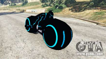 Tron Bike blue for GTA 5