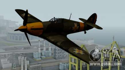 Hawker Hurricane Mk1 - Romania Nr. 1 for GTA San Andreas