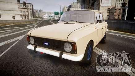 Moskvich-412 for GTA 4