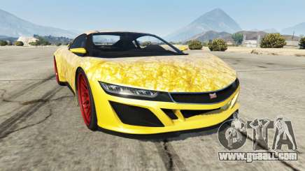 Dinka Jester (Racecar) Gold for GTA 5