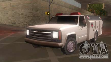FDSA Fire Van for GTA San Andreas