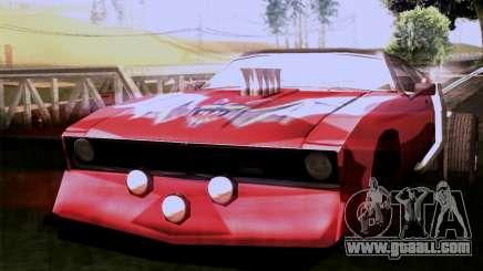 Ford Falcon XA Red Bat Mad Max 2 for GTA San Andreas