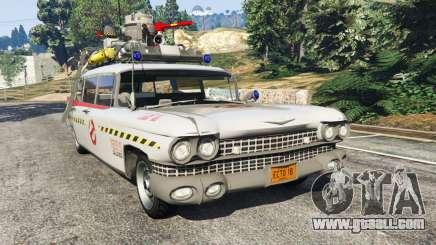 Cadillac Miller-Meteor 1959 ECTO-1 v0.1 [Beta] for GTA 5