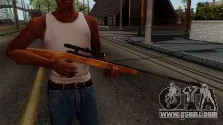Original HD Sniper Rifle for GTA San Andreas