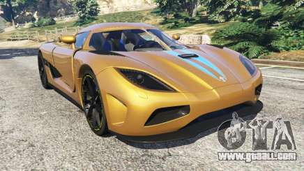 Koenigsegg Agera v0.8 [Early Beta] for GTA 5