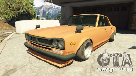 Nissan Skyline 2000 GT-R 1970 v0.1 [Beta] for GTA 5