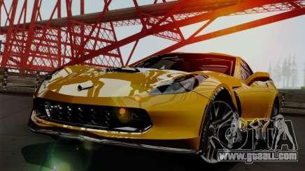 Chevrolet Corvette Z06 1.0.1 for GTA San Andreas