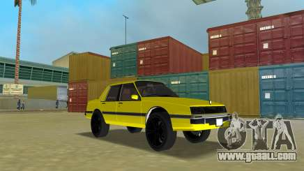 GTA IV Willard Yellow Submarine for GTA Vice City