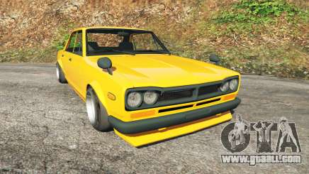 Nissan Skyline 2000 GT-R 1970 v0.3 [Beta] for GTA 5