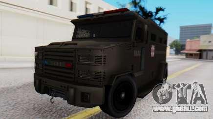 GTA 5 Enforcer Raccoon City Police Type 1 for GTA San Andreas