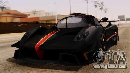 Pagani Zonda Revolucion 2015 for GTA San Andreas