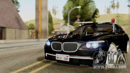 BMW 750Li 2012 for GTA San Andreas