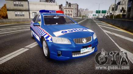 Holden VE Commodore SS Highway Patrol [ELS] v2.0 for GTA 4