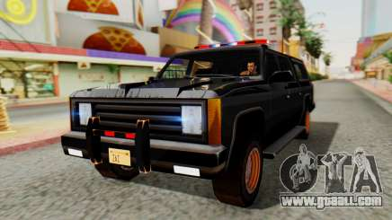 FBI Rancher with Lightbars for GTA San Andreas