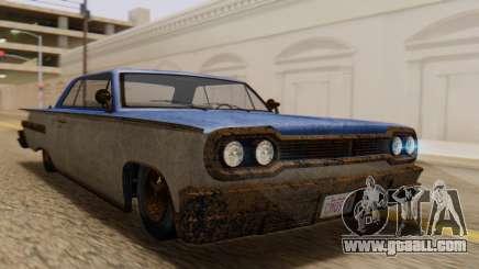 GTA 5 Declasse Voodoo Worn IVF for GTA San Andreas