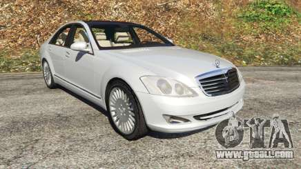 Mercedes-Benz S500 W221 v0.3 [Alpha] for GTA 5