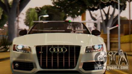 Audi S5 2010 Cabriolet for GTA San Andreas