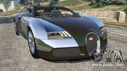 Bugatti Veyron Grand Sport v3.0 for GTA 5