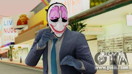 [PayDay2] Hoxton for GTA San Andreas