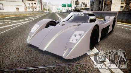 Toyota GT-One TS020 black spoiler for GTA 4