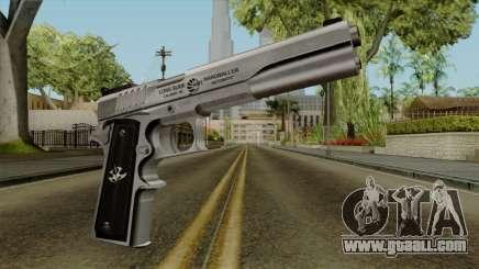 Original HD Colt 45 for GTA San Andreas