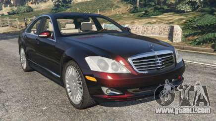 Mercedes-Benz S500 W221 v0.4 [Alpha] for GTA 5