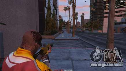 Laser sight for GTA 5