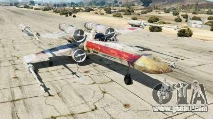 X-wing T-65 v1.1 for GTA 5