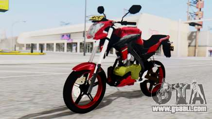 Yamaha Vixion Advance for GTA San Andreas