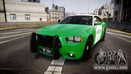 Dodge Charger Carabineros de Chile [ELS] v2.0 for GTA 4