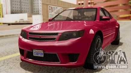 GTA 5 Cheval Fugitive for GTA San Andreas