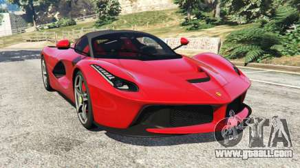 Ferrari LaFerrari 2015 v0.5 for GTA 5
