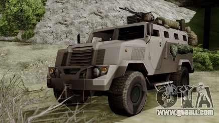 SPM-3 from Battlefiled 4 for GTA San Andreas