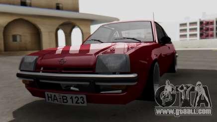Opel Manta B1 for GTA San Andreas