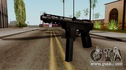Original HD Tec9 for GTA San Andreas