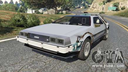 DeLorean DMC-12 Back To The Future v0.2 for GTA 5