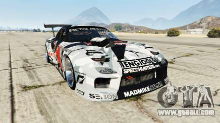 Mazda RX-7 MadMike for GTA 5